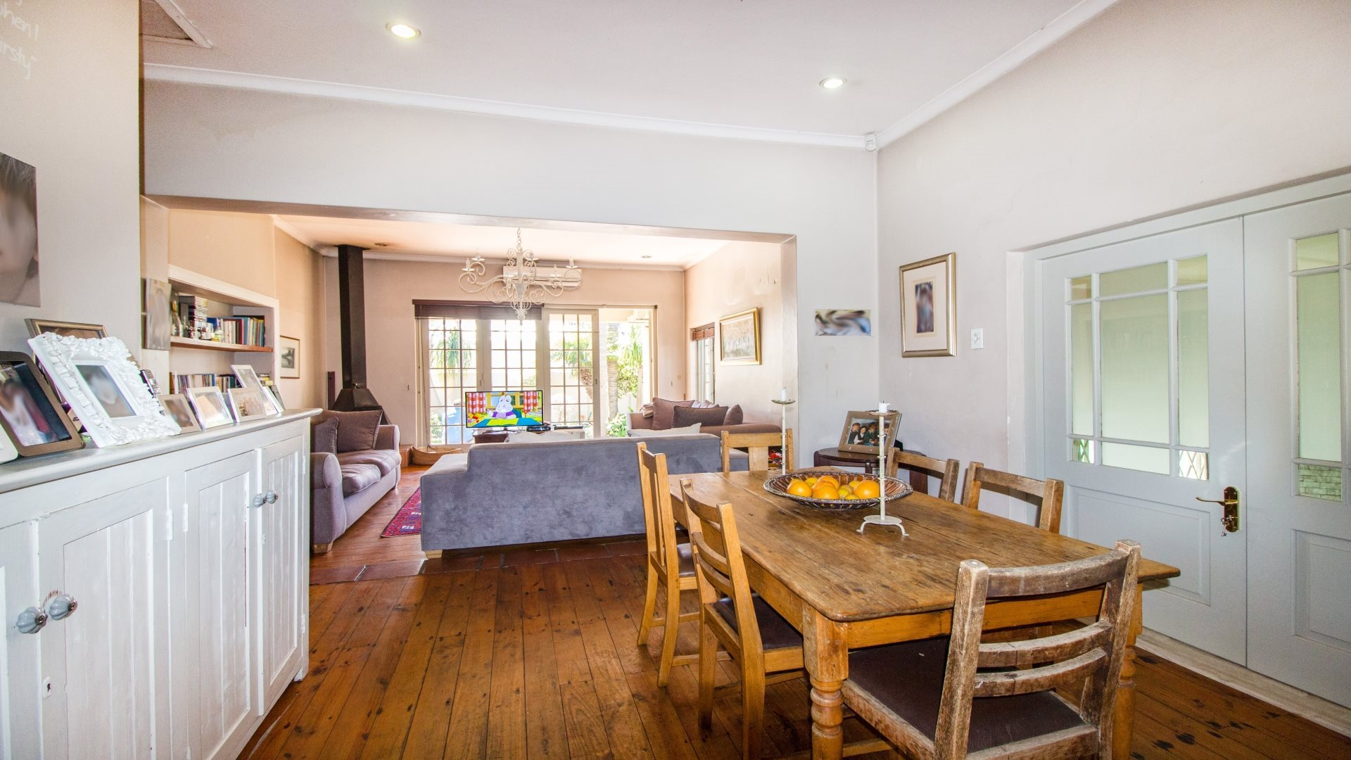 paarl home with wooden floors